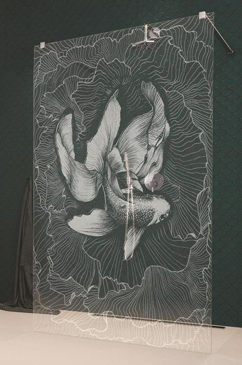 Fisch - glasgravur photo 1